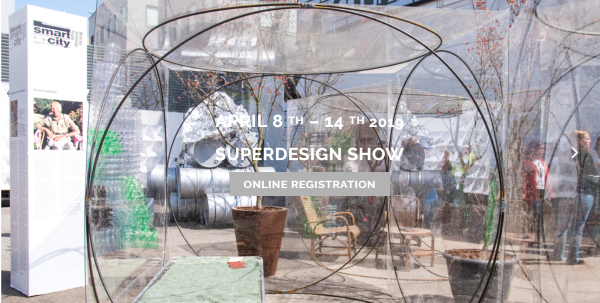We will be exhibiting at the world's largest design event