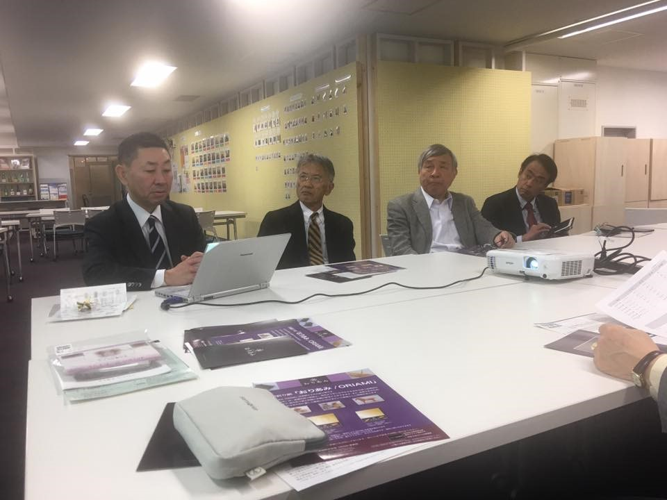 Company President Ishikawa, gave a lecture at Interchange Industry Exchange Plaza 21 regular meeting on November 30, 2016 (Wednesday).