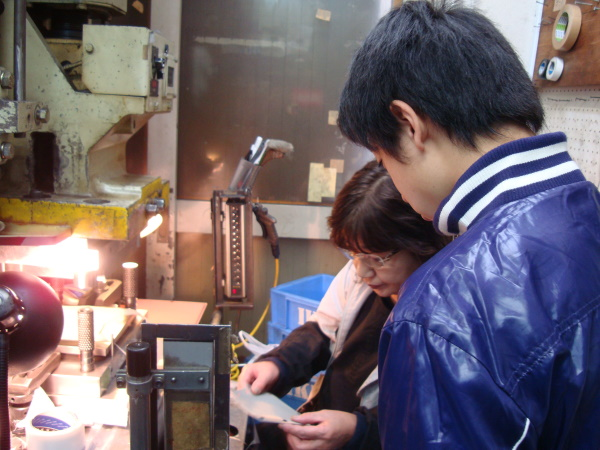 Adachi High School students participated in our internship program.